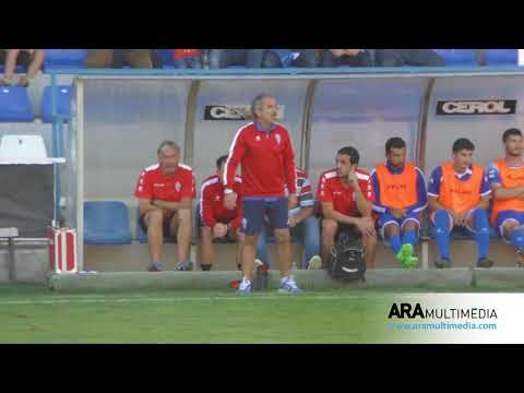 RESUM CD Alcoyano 1-1 Lleida Esportiu (Temporada 2017/2018) ARAMULTIMÈDIA