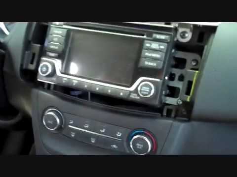 Nissan Sentra Stereo Removal