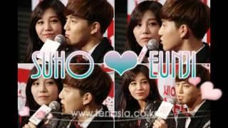 [SUJI] Suho and Eunji Moments 2016