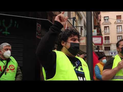 Los conductores de la EMT se concentran en Palma