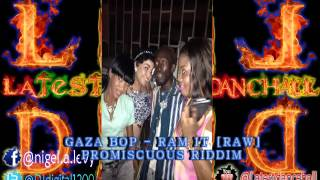 gaza bop ram it promiscuous riddim december 2014 latest dancehall