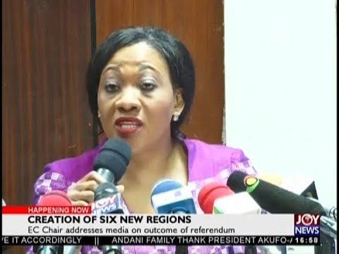 Creation Of Six New Regions – The Pulse On JoyNews (28-12-18)