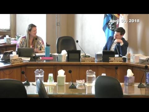 Salt Lake City Council Work Session 4/3/2018