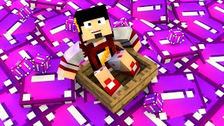 Minecraft: ESCADONA - LUCKY BLOCK ROXA ‹ AMENIC ›