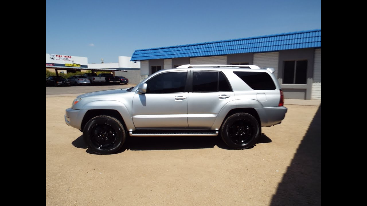 Toyota 4Runner Lifted >> 2004 Toyota 4Runner Limited Navigation Leather PR1416 ...