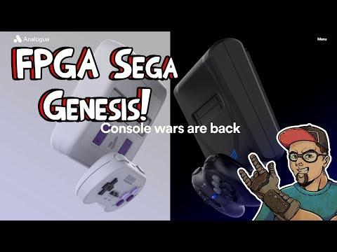 Mega SG Analogue FPGA HD Sega Genesis Announced! Play Master System, Sega CD, Mark III & More!
