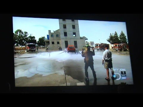 Myth Busters-Full size firehose car