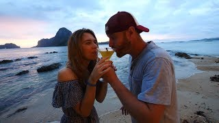 The Best Sunset in the History of Ever | El Nido, Philippines Vlog