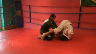 Roleta Brazilian Jiu Jitsu - Armbar from Inverted Guard by Roberto Roleta