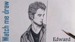 WATCH ME DRAW 04 - Robert Pattinson as Edward Cullen [Twilight]