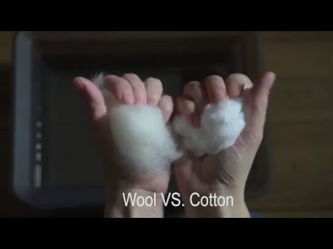 Wool VS. Cotton :: Aclima - YouTube