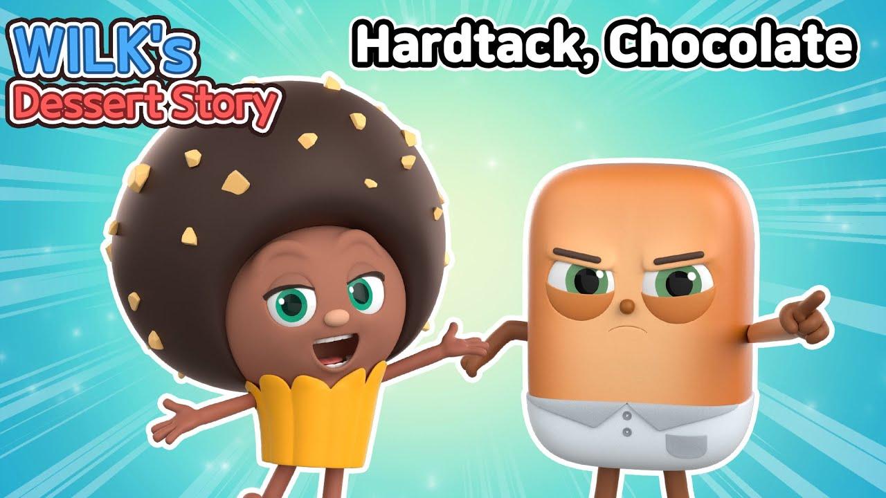 Wilk's Dessert Story   ep01~02   Hardtack, Chocolate   animation/dessert/cartoon