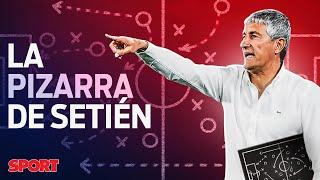 ASÍ JUGARÁ el FC BARCELONA de QUIQUE SETIÉN: SU ESTILO DE JUEGO 📊