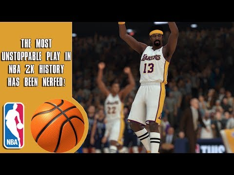 The Most Unstoppable Play In NBA 2K History Has Been Nerfed! (But Its Still Useful)