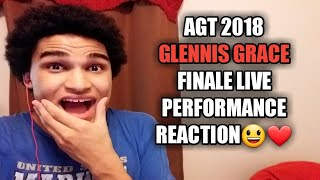 AGT 2018 Finale - Glennis Grace Live Performance - Reaction Video