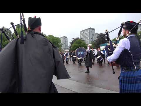Worlds 2017 - Friday - Johnstone Pipe Band - Strathspey & Reel