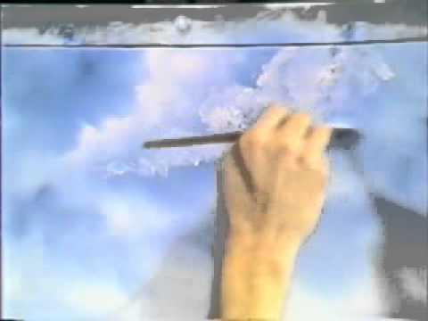 Bob Ross Malerei Am Fuss Des Bergwaldes Malerei 14