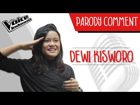 Parodi Comment - Dewi Kisworo | The Voice Indonesia 2016