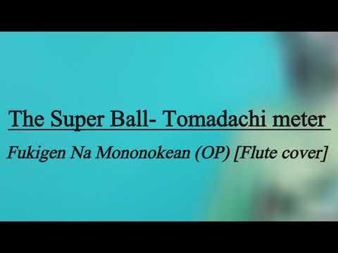 The Super Ball- Tomadachi Meter  Fukigen Na Mononokean  ( OP) [ Flute Cover]