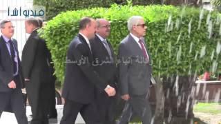 بالفيديو: وصول الوفود العربية لاختيار الأمين العام للجامعة العربية