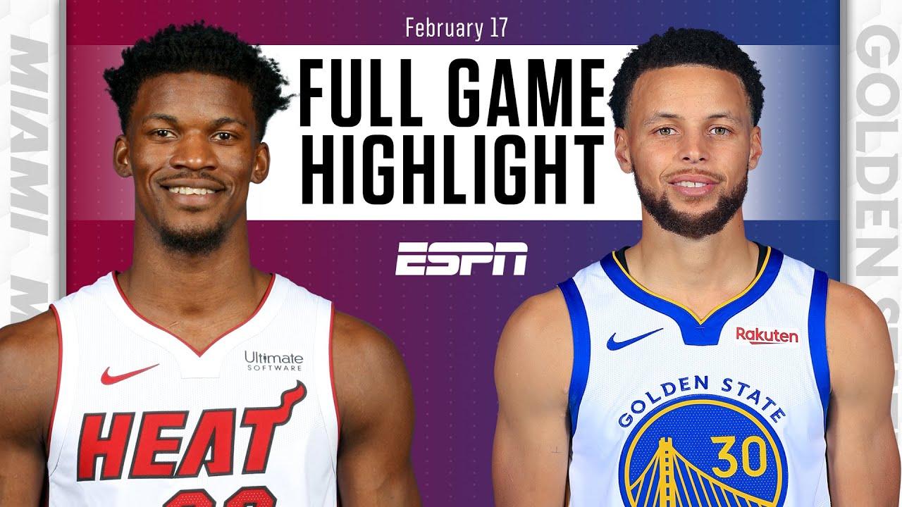 Heat vs. Warriors - Game Recap - February 17, 2021 - ESPN