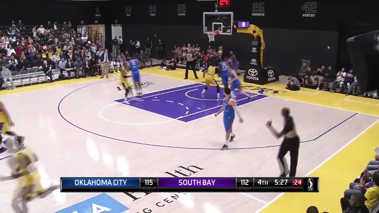 fdc8b9b8d Andre Ingram (20 points) Highlights vs. Oklahoma City Blue - YouTube