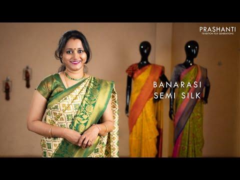 Banarasi Semi Silk