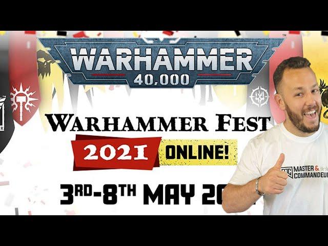 WARHAMMER FEST - Warhammer 40.000 News