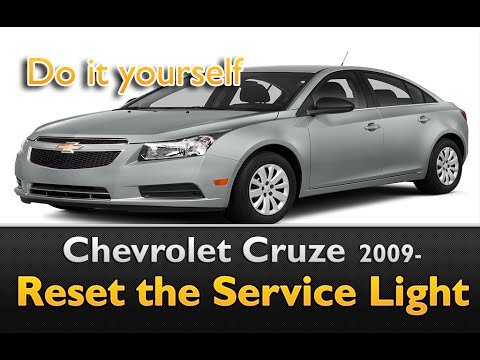 Chevy Cruze Service Light Reset With Multifunction Display Youtube