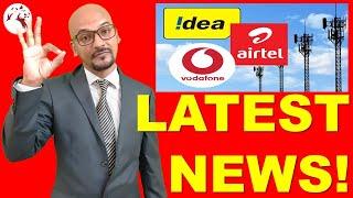 LATEST MARKET NEWS | Vodafone-IDEA Share Price | Idea Share | Hindi