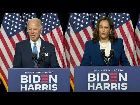 AFP Español: Joe Biden promete en primer discurso con Harris