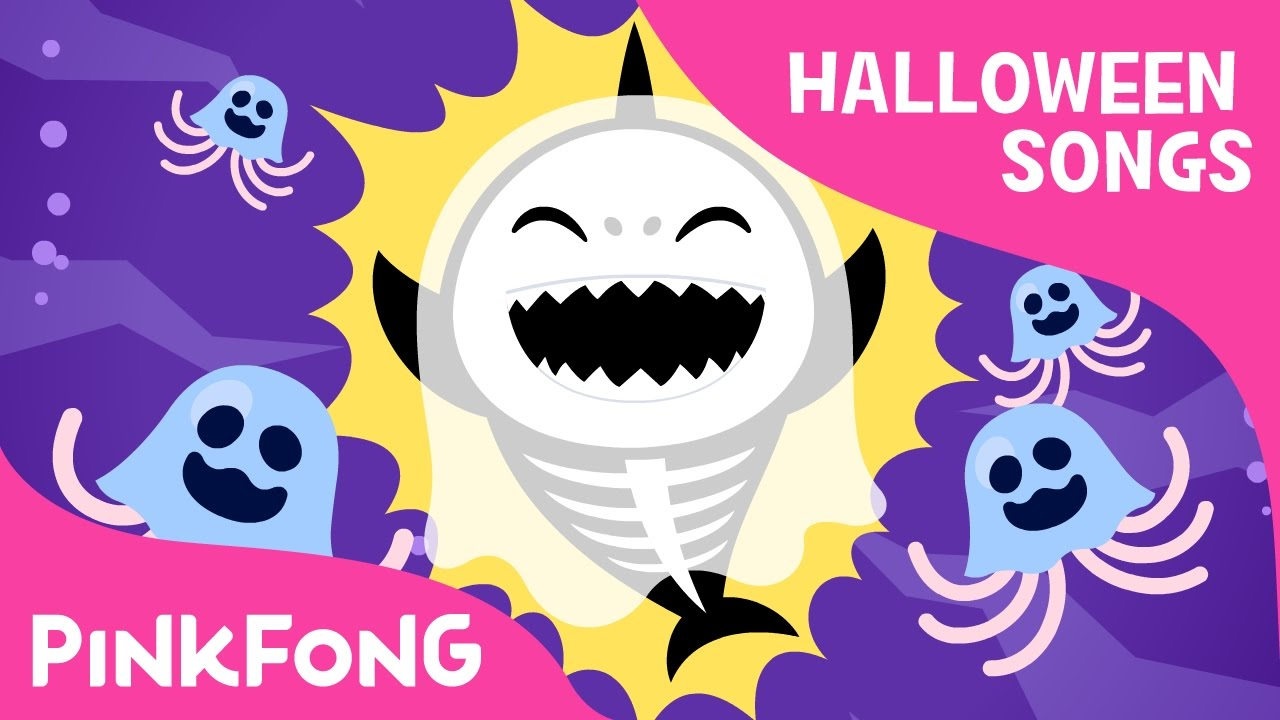 Halloween Sharks Halloween Version Of Baby Shark Halloween Songs Pinkfong Songs For Children Youtube
