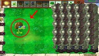 1 Gatling Pea vs 999 Gargantuar vs Dr. Zomboss Plants vs Zombies