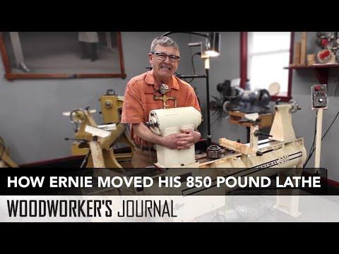 How to Move a 850 Pound Lathe