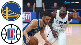 La clippers vs golden state warriors full game highlights!who you got? drop a time stamp below and subscribe!•best dunks of the game•1:00 kawhi's poster over...