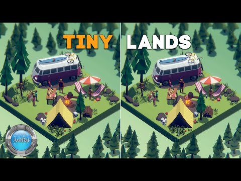 Tiny Lands Gameplay 60fps |