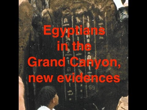 Grand Canyon Egyptians, more evidences has been found