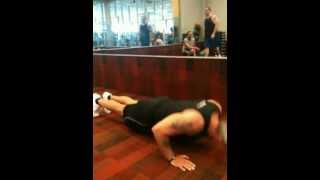 56 year old man does 62 push ups in 30 seconds