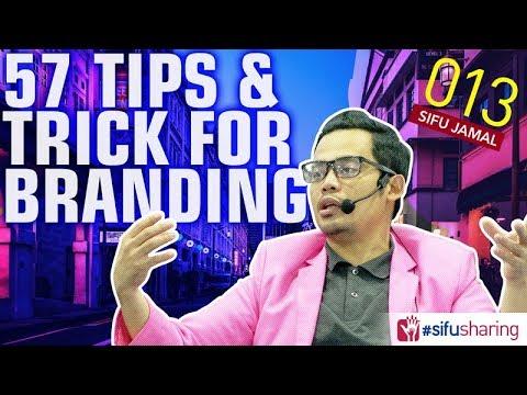 57 Tips & Tricks For Branding | #SifuSharing013