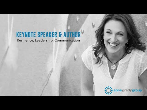 2019 Keynote Speaker Demo | Anne Grady