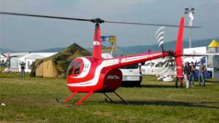 Helicopter startup, take off and landing - Robinson R-44 Raven II +bonus two AN-2 fly-by