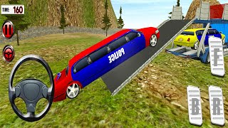 US Police Limo Car Transporter - Offroad Multi Trailer Truck Driving - Android Gameplay