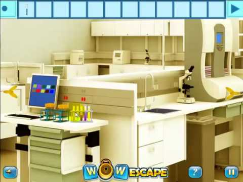Wow lab room escape walkthrough wow escape youtube for Escape room equipment