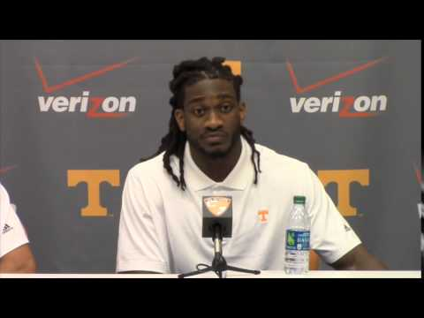 UT 34, Ark. State 19 - Justin Worley and A.J. Johnson Postgame