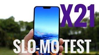Vivo X21 slow motion test | Vivo Smartphones