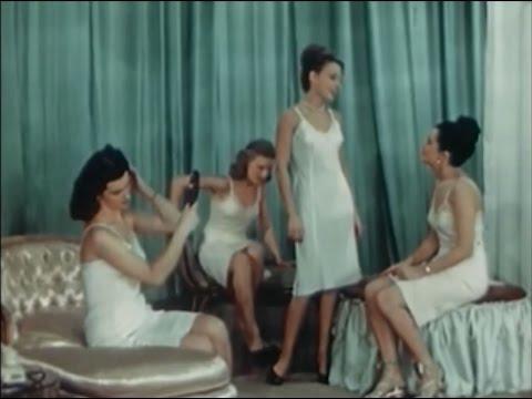 "Surreal Vintage Lingerie Promotional Film: ""Tomorrow Always Comes"" (1941)"