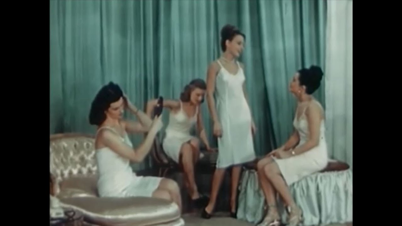 5d11a7311 Surreal Vintage Lingerie Promotional Film