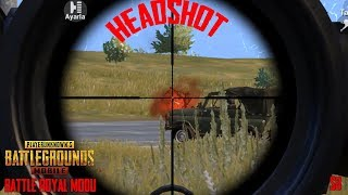 PUBG MOBİLE GAME PLAY EFSANE HEADSHOT