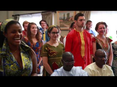 Peace Corps Senegal Swear In Ceremony 2016 CED and Health