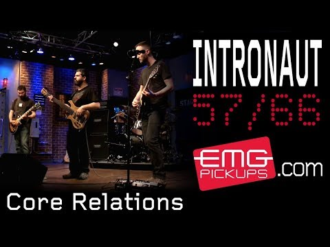 """Intronaut Performs """"Core Relations"""" For EMGtv"""